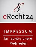 Siegel Impressum von eRecht24